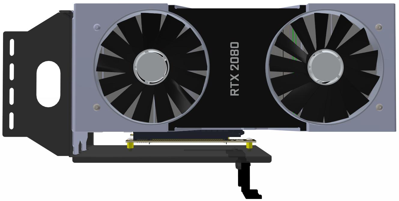 Adt Bk Graphics Card Bracket Adapter
